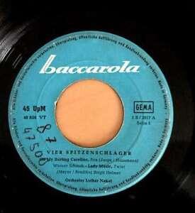 Various-4-Spitzenschlager-7-034-Single-Vinyl-Schallplatte-12322