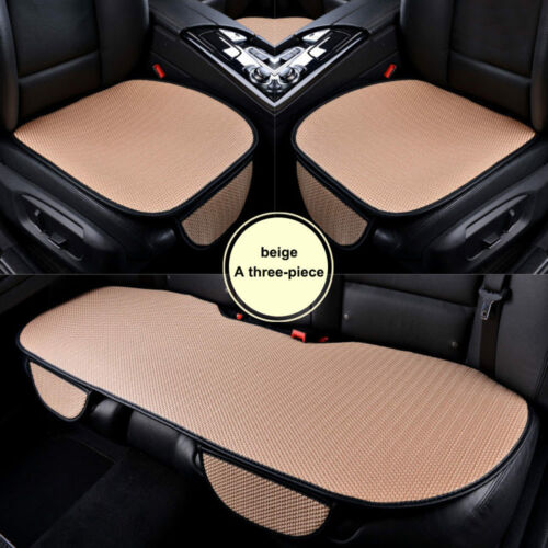 Car SUV Wear Resistant Ice Silk Seat Cover Anti-Slip Silicone Cushion Front//Rear