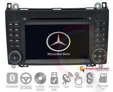 AUTORADIO GPS MERCEDES BENZ CLASSE A W169 CLASSE B W245 VITO DVD TOUCH MP3
