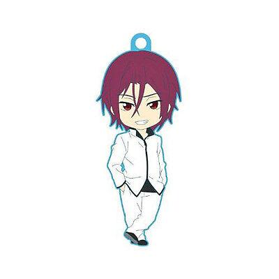 Iwatobi Swim Club Haruka Uniform Petanko Vol 2 Rubber Cell Phone Strap NEW Free