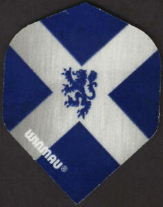 Flag of Scotland with Lion Dart Flights: 3 per set