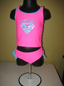 926f73493d Image is loading Infant-Toddler-Superhero-Swimsuit -Tankini-SUPERGIRL-12-Months-