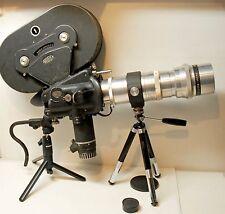 CAMERA ARRIFLEX 35 II A -35 mm -1955 - Moteur  + magasin + obj:400 mm mount ARRI