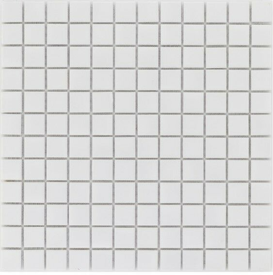 Keramik Mosaik Fliese weiß glänzend Wand Fliesenspiegel l 10 Matten  ES-41169 _f