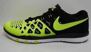Nike 10 Sneakers Training Black 5 Novit Lime Size ZRx8qZwO
