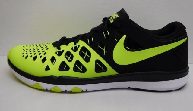 29b829285a3 Nike Train Speed 4 Training Shoes Men s 10.5 Volt black 843937 700 ...
