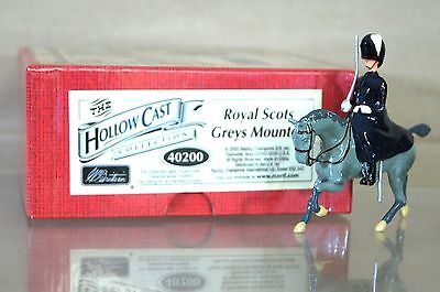 Acquista A Buon Mercato Britains 40200 Hollowcast Royal Scots Greys Montato Mint Nj