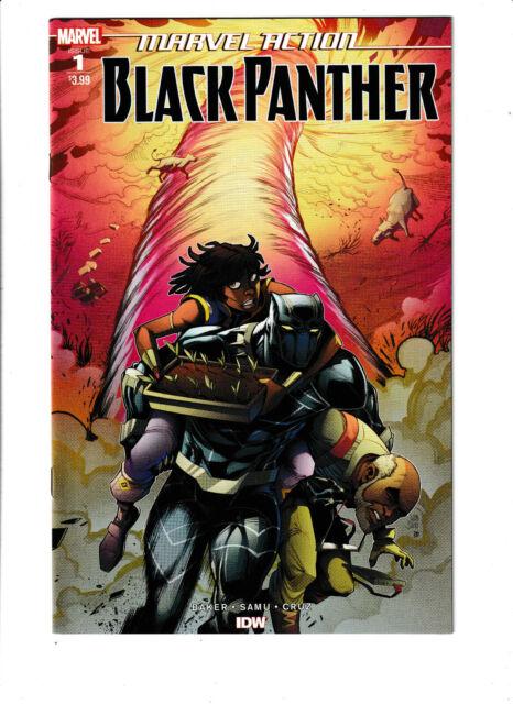 Marvel Action Black Panther #1 NM- 9.2 Marvel IDW Comics Wakanda Shuri 2019