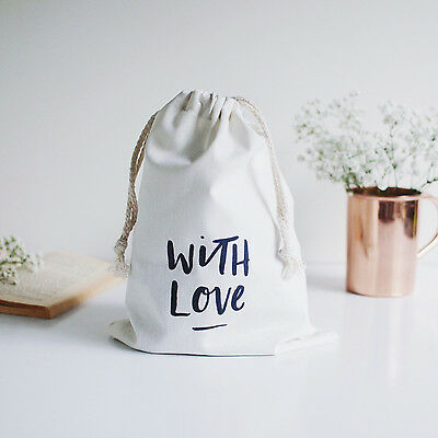NEW With love canvas gift bag Women's by In the Daylight