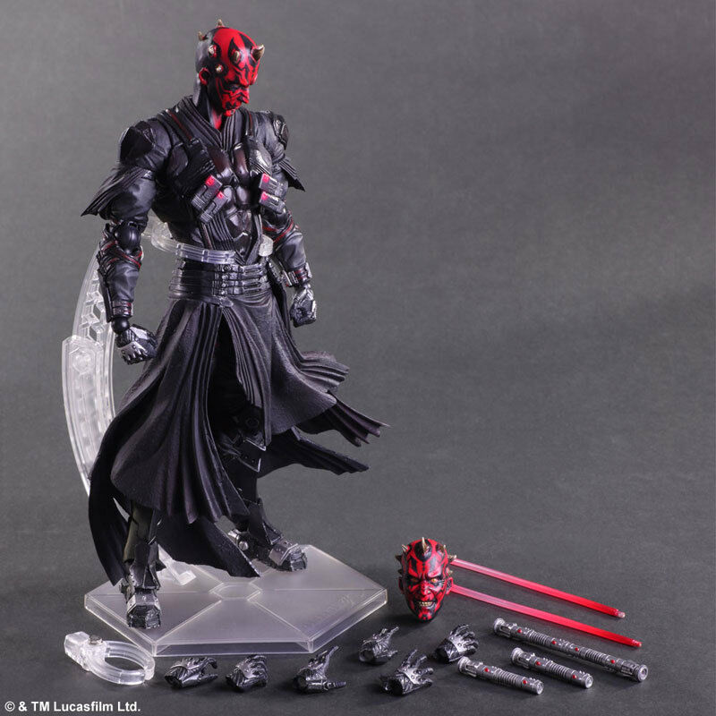 Star Wars Variant Play Arts Kai Darth Maul PVC Action Figures Statue New In Box