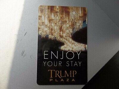 Early BEFORE ARROWS Donald Trump Plaza Casino Room Key Card AC Atlantic City NJ