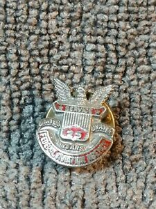 Vintage-Federal-Aviation-Agency-pin-25-years-service-United-States-Sterling