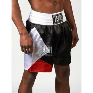 Shorts-LEONE-1947-AB211-Shorts-Boxing-Black-Men-039-s-Fashion-Gym-Boxing