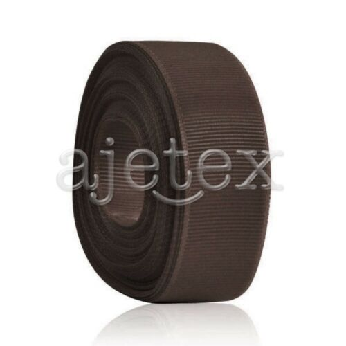 10 Yard 25mm Grosgrain Ribbon Lot Bows Sew Wedding Favor DIY Wholesale RN0029