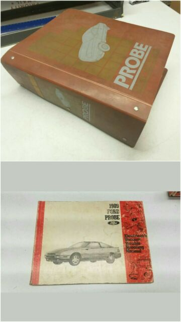 1989 Ford Probe Shop Repair Manual  U0026 Wiring Diagram Manual