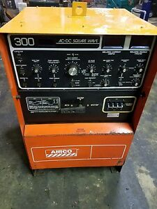 Airco 300 Ac Dc Square Wave Welder High Frequency Intensity Ebay