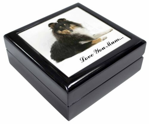 AC-80yJB Black and White Cat /'Yours Forever/' Keepsake//Jewellery Box Christmas G
