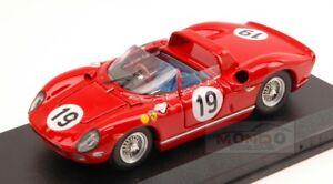 Ferrari 330 P # 19 3e Le Mans 1964 Surtees-bandini au 01:43 Art Modèle Art166