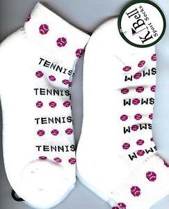 Tennis Maman Sport Chaussettes Par Kbell Une Paire Femme Taille 9-11 Tennis Cadeau-afficher Le Titre D'origine