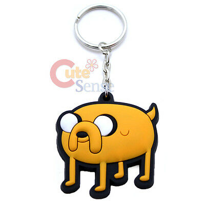 Set of 1 Adventure Time Acrylic Keychain Finn The Human Jake The Dog