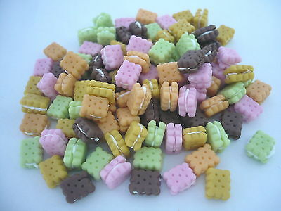 20 Loose Cookie Filling Cream Dollhouse Miniatures Food Bakery