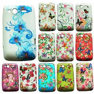 BUTTERFLY-FLOWER-FLORAL-SILICONE-RUBBER-GEL-COVER-CASE-FOR-HTC-MOBILE-PHONES