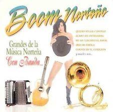 Audio CD Grandes De La Musica Nortena Con Banda - Boom Norteno - Free Shipping