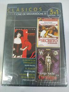 Longue Nuit Gestapo + Secret Emmanuelle DVD Region All Espagnol Anglais Neuf