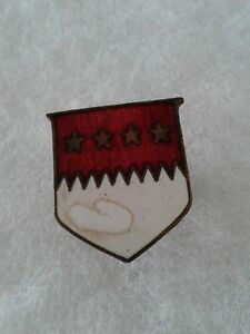 Authentic-WWII-US-Army-5th-Medical-Battalion-DI-DUI-Unit-Crest-Insignia
