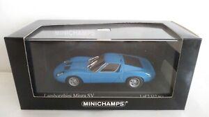LAMBORGHINI MIURA SV MINICHAMPS SCALA 1/43