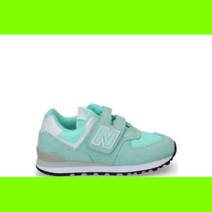 NEW BALANCE YV574EL JUNIOR verde ACQUA-30