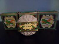 Roger Gallet Fougere -fern Soap 3 Pcs , 3.5 Oz -100 Each ,vintage.