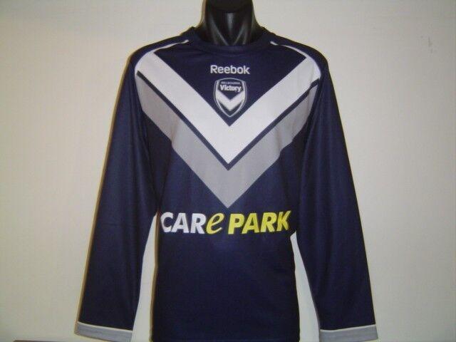 Melbourne Victory 2011 A-League AFC ACL Reebok Jersey Camisa Manga Larga Pequeño
