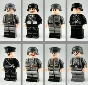 Bausteine-Figur-Kind-Armee-Zeichen-Modell-Spielzeug-Militaer-Geschenk