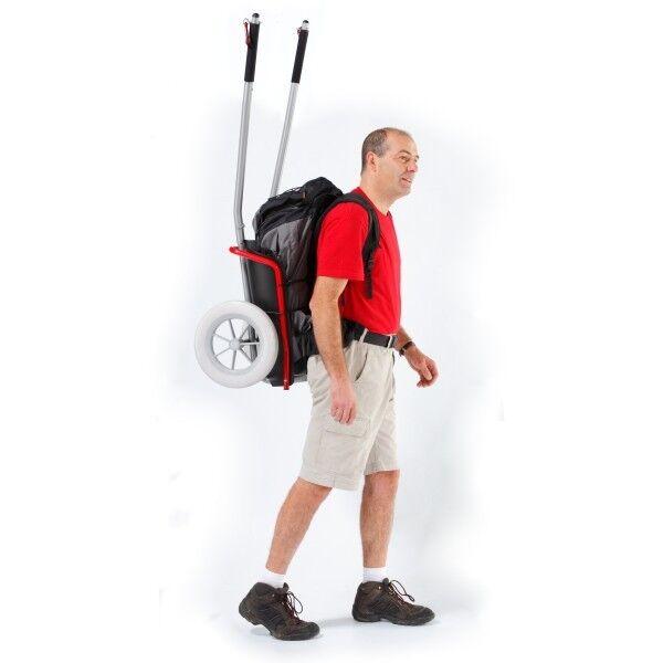 Adaptateur transformant le chariot de randonnée vélos en chariot de randonneur