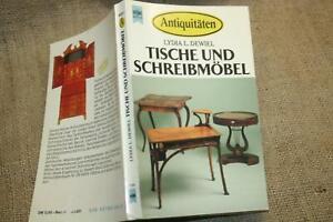 Sammlerbuch-alte-Holzmoebel-Tische-Schreibmoebel-Schreibtisch-Sekretaer-Kleinmoebel