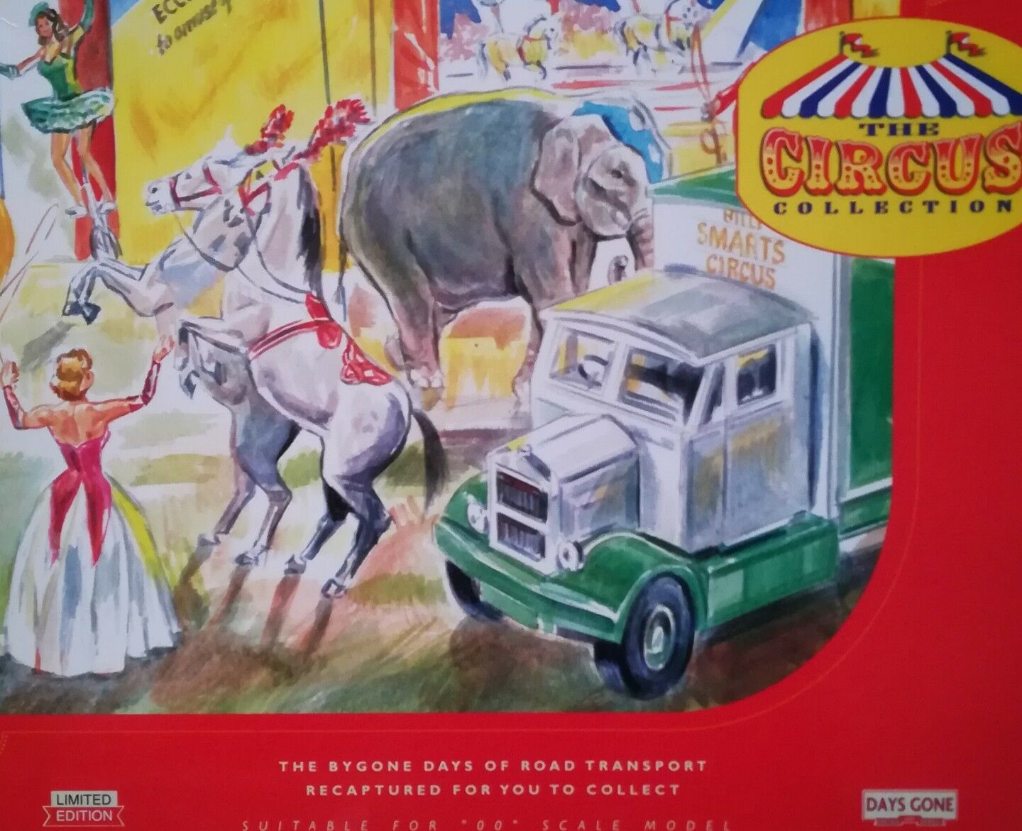 Lledo Days Gone, The circus collection (billy smarts) NS1002 Scale  1 76