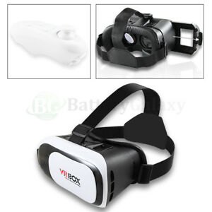 Virtual Reality Vr Headset 3d Video Glass For Iphone 6 7 Plus Samsung Smartphone 769173531680 Ebay