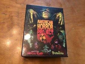 American-Horror-Project-Blu-ray-Arrow-Video-Limited-Ed-OOP-Rare-Sealed-NEW