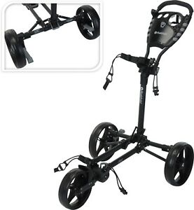 Fastfold-Flat-Trolley-Black