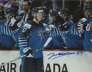 c3798e41a Image is loading Team-Finland-Jesse-Ylonen-Signed-Autographed-8x10-NHL-