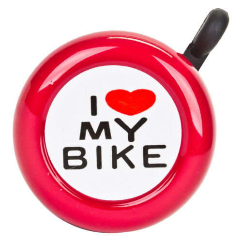 Sunlite I Love My Bike Bell Bell Sunlt I Love My Bike Red