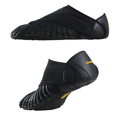 "New Vibram Furoshiki ""BLACK"" Wrapping Shoes, with Tote Bag, In Retail Box"