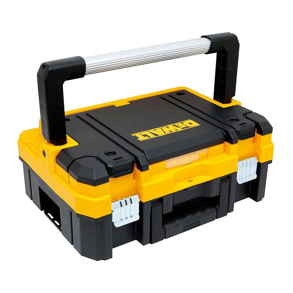 DEWALT PLANTER TSTAK DOOR TOOLS 473.4oz SUITCASE tools EMPTY DOUBLE LID