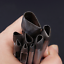 Leather Craft Water Drop Drip Pig Gall Flower Carbon Steel Punch Hole DIY Tool