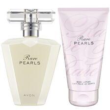 LOT EAU de Parfum RARE PEARLS + creme corps de chez AVON neuf