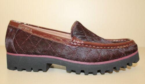 J Loafer Womens di Roko Pelle Donald Shoes bordeaux 3 Pliner Uk vitello Size 4dBEq