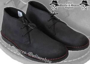 nera Stivali e Noir scarpe pelle buche bretelle 2012er Nero Scarpe in 2 basse cerata qF0rf1Tq