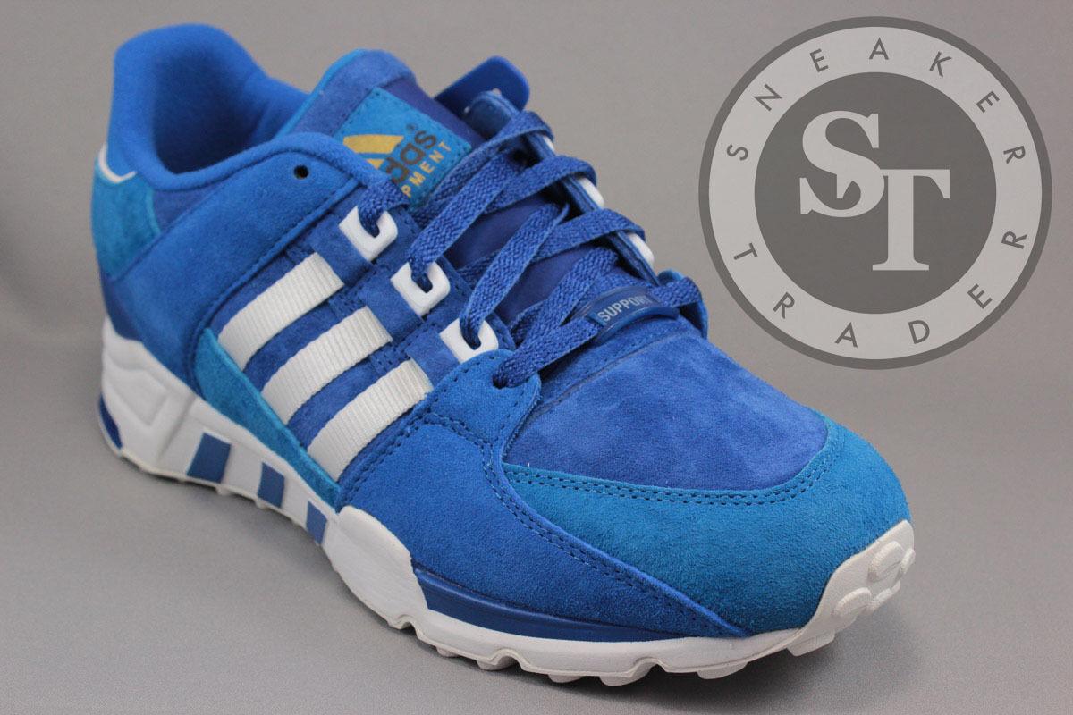 ADIDAS EQUIPuomoT RUNNING SUPPORT B27661 TOKYO COLLEGIATE ROYAL BLUE SIZE: 11 Scarpe classiche da uomo