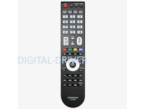 hitachi tv remote. hitachi tv remote control cle-998 replace to cle-981 cle-980 cle981 cle980 tv e
